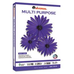 Universal 95210 Multipurpose Paper, 98 Brightness, 20Lb, 11 X 17, Bright White, 2500 Shts/Ctn