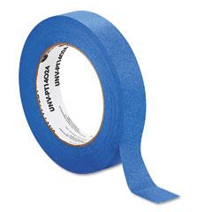"Universal PT14024 Premium Blue Masking Tape, 1"" X 60 Yard Roll, Blue"