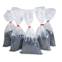 Rubbermaid commercial - sand for urns, black, 5 5-lb. bags/carton, sold as 1 ct