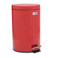 RCP MST35ERD Medi-Can, Round, Steel, 3 1/2 Gal, Red