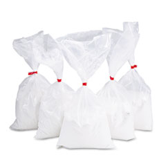 Rubbermaid commercial - sand for urns, white, 5 5-lb. bags/carton, sold as 1 ct