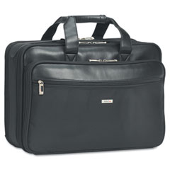 U.S. Luggage SGB300-4 Smart Strap Portfolio, 17 3/4 X 6 1/2 X 12 1/2, Black
