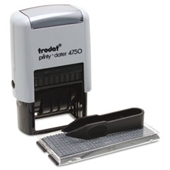 Trodat - self-inking do it yourself message dater, 3/4 x 1 7/8, sold as 1 ea
