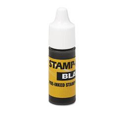 U. s. stamp & sign - refill ink for clik! & universal stamps, 7ml-bottle, black, sold as 1 ea