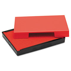Us Stamp USSP4913RE Trodat T4913 Message Replacement Pad, 7/8 x 2 3/8, Red