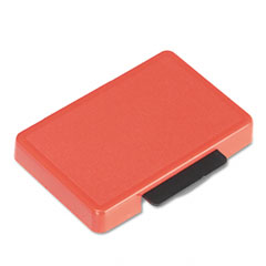 U. s. stamp & sign - t5440 dater replacement ink pad, 1-1/8 x 2, red, sold as 1 ea
