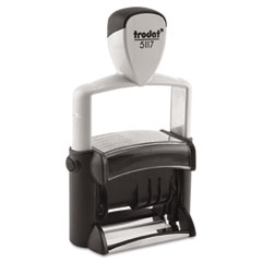 Trodat - trodat professional 12-message stamp, dater, self-inking, 2 1/4 x 3/8, black, sold as 1 ea