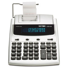 Victor 1225-3A 1225-3A Antimicrobial Two-Color Printing Calculator, 12-Digit Fluorescent