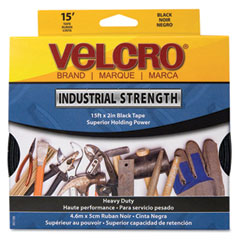 Velcro - industrial strength sticky-back hook and loop fasteners, 2-inch x 15 ft. roll, white, sold as 1 rl