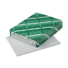Wausau paper - exact vellum bristol cover stock, 67 lbs., 8-1/2 x 11, gray, 250 sheets, sold as 1 pk