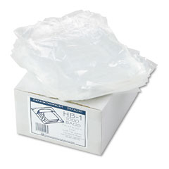 Webster HB-1 Jumbo Sandwich Bags, Fold Lock, 7 X 7, .7 Mil, Clear, 2000/Carton