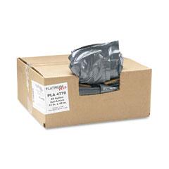 Webster PLA4770 Can Liner, Super Hexene Resin 56 Gal, 1.55 Mil, 43 X 48, 50/Carton