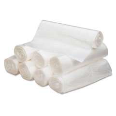 Webster WHD4316 High Density Can Liners, 56 Gal, 16 Mic, 43 X 48, Natural, 200/Carton