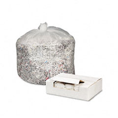 Webster WHD4812 High Density Can Liners, 40-45Gal, 12 Mic, 40 X 48, Natural, 250/Carton
