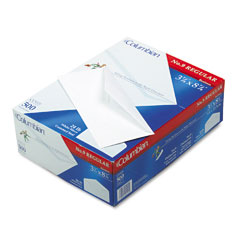 Mead Westvaco WEVCO115 Gummed Flap Business Envelope, V-Flap, #9, White, 500/Box