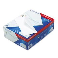 Mead Westvaco WEVCO115 Gummed Flap Business Envelope, V-Flap, #9, White, 500/Box