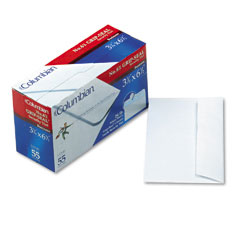 Mead Westvaco WEVCO140 Grip-Seal Inside-Tint Business Envelopes,#6-3/4,White Wove, 55/Box