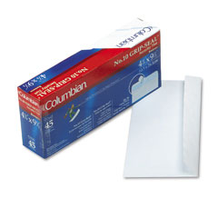Mead Westvaco WEVCO142 Grip-Seal Inside-Tint Business Envelopes,#10, White Wove, 45/Box