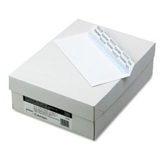 Mead Westvaco WEVCO145 Grip-Seal Business Envelopes, #10, White Wove, 500/Box