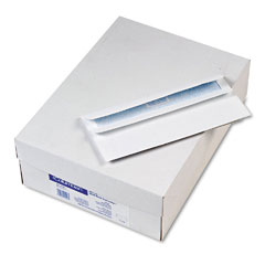 Mead Westvaco WEVCO296 Self-Seal Business Envelopes w/Privacy Tint; #10, White, 500/Box