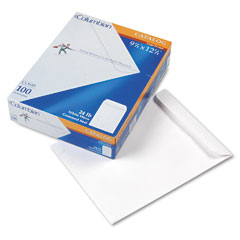 Mead Westvaco WEVCO648 All-Purpose Catalog Envelope, Center Seam, 9 1/2 x 12 1/2, White, 100/Box
