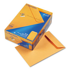 Mead Westvaco WEVCO649 All-Purpose Catalog Envelope, Center Seam, 6 x 9, Light Brown, 100/Box