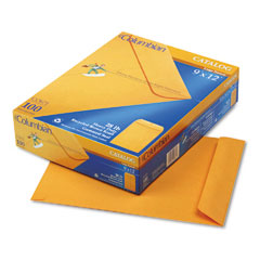 Mead Westvaco WEVCO671 All-Purpose Catalog Envelope, Center Seam, 9 x 12, Light Brown, 100/Box