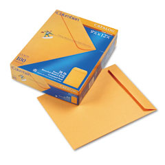 Mead Westvaco WEVCO679 All-Purpose Catalog Envelope, Center Seam, 9 1/2 x 12 1/2, Light Brown, 100/Box