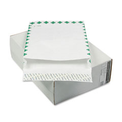 "Mead Westvaco WEVCO815 Tyvek Grip-Seal Open-End 2"" Expansion Envelopes/1st Cl, 12 x 16, 100/Box"