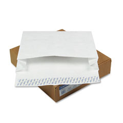 "Mead Westvaco WEVCO817 Tyvek Grip-Seal Open Side 4"" Expansion Envelopes, 12 x 16, 50/Box"