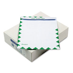 Mead Westvaco WEVCO823 DuraLok Security Tint Open End Flat Envelopes, 1st Class, 10x13,100/Box