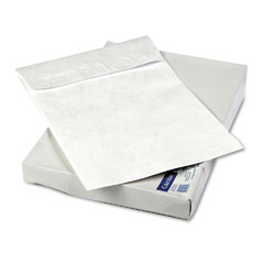 "Mead Westvaco WEVCO824 Tyvek Grip-Seal Open End 2"" Expansion Envelopes, 12 x 16, 25/Box"