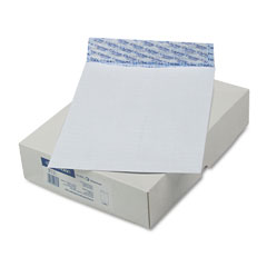 Mead Westvaco WEVCO828 DuraLok Security Tint Open End Flat Envelopes, 10x13, 100/Box