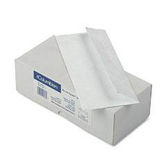 Mead Westvaco WEVCO848 Tyvek Open End Flat Grip-Seal Envelopes, #10, White, 100/Box
