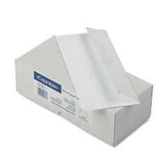 Mead Westvaco WEVCO848 Tyvek Open End Flat Grip-Seal Envelopes, #10, White, 100/Box