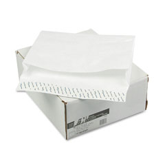 "Mead Westvaco WEVCO893 Tyvek Grip-Seal 2"" Expansion Envelopes, Open Side, 10 x 13, 100/Box"