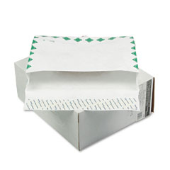 "Mead Westvaco WEVCO896 Tyvek Grip-Seal 2"" Expansion Envelopes, 1st Cl, 10 x 13, 100/Box"