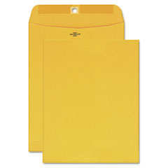 Mead Westvaco WEVCO975 Clasp Envelopes, Recycled Kraft, 7-1/2 x 10-1/2, 100/Box