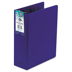 Wilson jones - large capacity hanging post binder, 11 x 8-1/2, 2-inch capacity, blue, sold as 1 ea