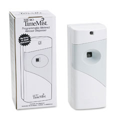 Waterbury 1041TM1 Micro Ultra Concentrated Metered Aerosol Dispenser, 3W X 3D X 7H, White/Gray