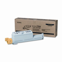 Xerox 106R01220 106R01220 High-Yield Toner, 12000 Page-Yield, Yellow