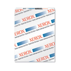Xerox - digital color elite gloss cover stock, 80 lbs., 18 x 12, white, 250 sheets, sold as 1 pk