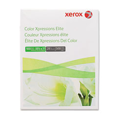Xerox 3R11760 Color Xpressions Elite Paper, 100 Brightness, 28Lb, 8-1/2 X 11, We, 500 Sht/Rm