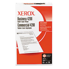 Xerox Business 4200 Copy Paper, 92 Brightness, 20lb, 8-1/2 x 14, White, 500 Shts/Rm