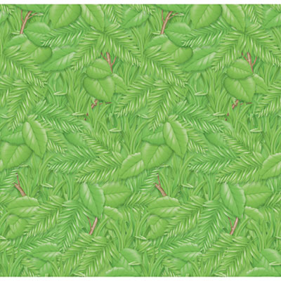 Fadeless Designs Bulletin Board Paper, Tropical Foliage, 50 ft x 48