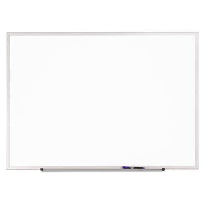 Classic Melamine Whiteboard, 36 x 24, Silver Aluminum Frame