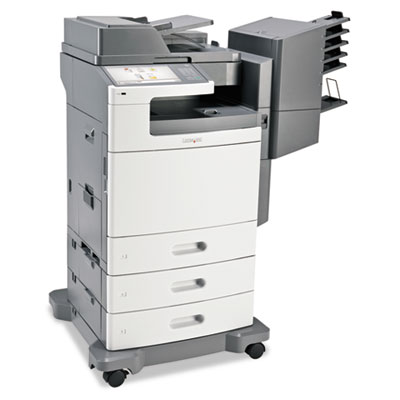 X792dtme Multifunction Laser Printer, Copy/Fax/Print/Scan