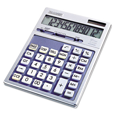 EL2139HB Portable Executive Desktop/Handheld Calculator, 12-Digit LCD