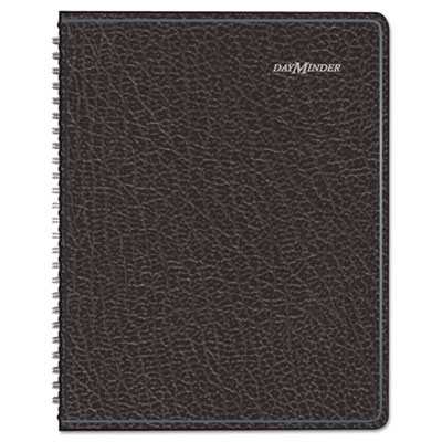 "Recycled Weekly Planner,Black, 6 7/8"" x 8 3/4"", 2013"