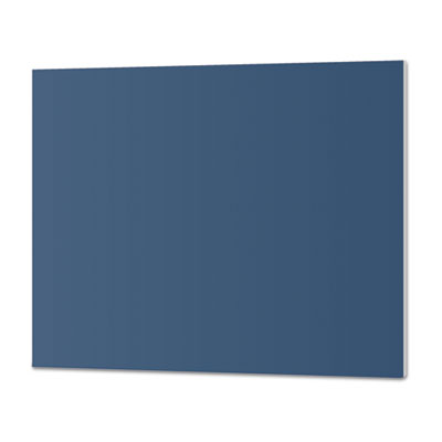 CFC-Free Polystyrene Foam Board, 30 x 20, Blue with White Core, 10/Carton